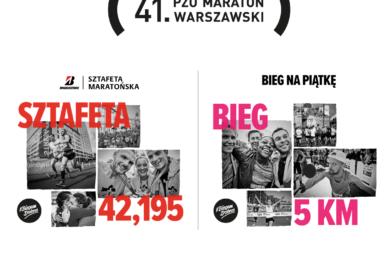 Ruszyły zapisy na biegi towarzyszące w ramach 41. PZU Maratonu Warszawskiego