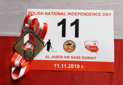 9. Luboński Bieg Niepodległości. Biegać będą też w bazie lotniczej w Kuwejcie!