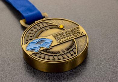 Unikalny medal World Athletics Half Marathon Championships – Gdynia 2020