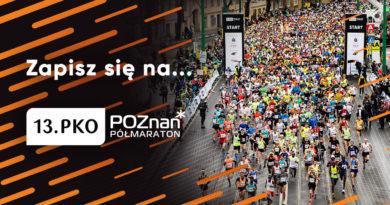 Ruszyły zapisy do 13. PKO Poznań Półmaratonu
