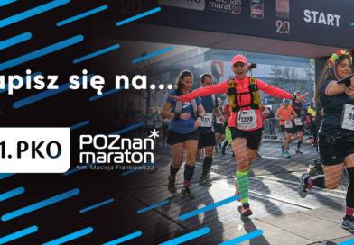 Poznań Maraton 2020 – zapisy oraz przygotowania czas START!