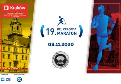 Nowy termin 19. PZU Cracovia Maraton – 8 listopada 2020 roku