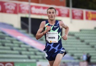 Moen zaatakuje rekord Europy w biegu godzinnym