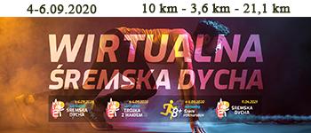 Pierwsza edycja Śremskiej Dychy jednak w 2021 roku, za to w dniach 4-6 września tego roku biegi wirtu@lne.