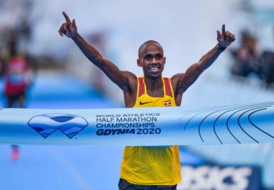 MŚ W PÓŁMARATONIE – GDYNIA 2020 – Jacob Kiplimo pisze historię Ugandy na mistrzostwach świata w półmaratonie w Gdyni