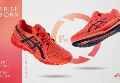 ASICS stworzył buty do biegania z materiałów pochodzących z recyklingu