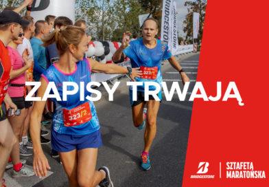 Dołącz do Bridgestone Sztafety Maratońskiej podczas 43. edycji Maratonu Warszawskiego