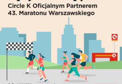 Circle K oficjalnym Partnerem 43. Maratonu Warszawskiego