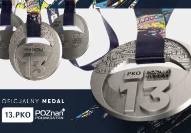 Medal 13.PKO Poznań Półmaratonu upamiętni 100-lecie Międzynarodowych Targów Poznańskich